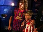 Hậu CK Cúp nhà Vua 2012: Câu chuyện cảm động về Puyol và CĐV nhí xứ Basque