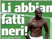 Balotelli lại bị báo chí Ý phân biệt chủng tộc