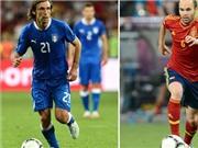 Đường đến chung kết EURO 2012: Pirlo và Iniesta xuất sắc nhất