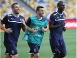Chùm ảnh: Italia luyện quân trước trận chung kết