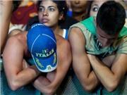 Nước mắt và nỗi buồn CĐV ngày Italia bại trận