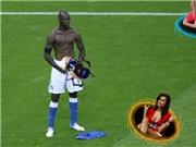 """Thêm bộ ảnh """"chế"""" độc đáo màn ăn mừng của Balotelli"""