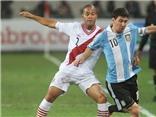 "Peru 1-1 Argentina: Messi ""tắt điện"", Argentina không thắng"