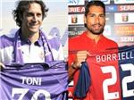 """Toni và Borriello trở lại """"mái nhà xưa"""": Ngày xưa ơi…"""