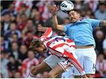 Stoke 1-1 Man City:  Thày trò Mancini lại vấp