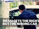 VIDEO: Phút đãng trí hiếm hoi của Messi
