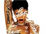 Rihana trưng ảnh ngực trần trên mặt album mới