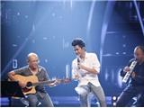 """Vietnam Idol - """"Chàng sơ mi"""" vuốt má giám khảo Mỹ Tâm"""