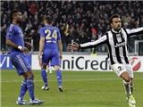 """CHÙM ẢNH: """"Vua châu Âu"""" gục ngã dưới chân Juventus"""