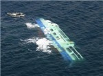 Nhiều người chết và mất tích trong vụ tai nạn tàu thủy trên Biển Bắc