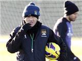 Nếu Man City không vô địch Premier League, Mancini có thể bị sa thải