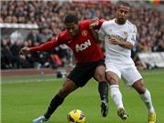 """Swansea 1-1 M.U: Rooney mờ nhạt, """"Quỷ Đỏ"""" chia điểm ở Liberty"""