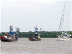 Phát hiện du thuyền nước ngoài trôi dạt trên biển Việt Nam