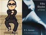 """Cú hích văn hóa thế giới 2012: Gangnam Style và tiểu thuyết """"người lớn"""""""