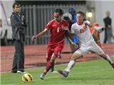 Đội tuyển Việt Nam đấu với CLB Hyundai Mipo Dolphin tại sân Hàng Đẫy