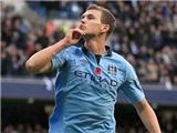 Man City: Dzeko không đáng bị đánh đổi