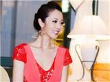 Jennifer Phạm khoe vẻ đẹp mặn mà trong bộ váy đỏ