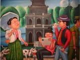 """Triển lãm """"Made in Hà Nội"""": Nhiều góc nhìn về Tháp Rùa"""