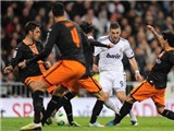 Real 2-0 Valencia: Ronaldo trở lại, Benzema ghi bàn, Real giành lợi thế ở Cúp nhà Vua