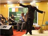 Quán quân Step dance thế giới mang âm nhạc truyền thống Ireland đến với sinh viên