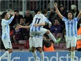 """Barcelona 2-2 Malaga: Barca nếm """"trái đắng"""" ở phút cuối"""