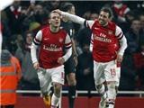 VIDEO: Người hùng Jack Wilshere giúp Arsenal đánh bại Swansea ở Emirates