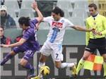 Vòng 20 Serie A: Cavani ghi bàn, Napoli vẫn mất điểm trước Fiorentina