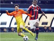 Góc kĩ thuật: Milan đã biết cách biến Messi thành vô hại