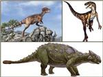 3 chú khủng long khổng lồ xuất hiện tại Hà Nội mừng Tết thiếu nhi