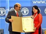 FAO vinh danh Việt Nam về thành tích xóa đói giảm nghèo
