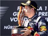 F1 chặng 9 - GP Đức: Vettel xóa dớp trên sân nhà
