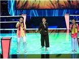 VIDEO: Nổi da gà với 'Liên khúc ba miền', tiếc vì The Voice Kids không có luật 'cứu'!