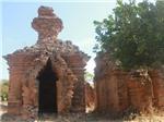 Tháp Po Dam - Kiến trúc kỳ lạ của tháp cổ Champa