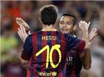VIDEO: Barca trút 8 bàn vào lưới Santos