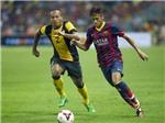 VIDEO: Neymar tỏa sáng, Barca thắng Malaysia