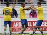 VIDEO: Arsenal 'dạy dỗ' Man City trên đất Thụy Điển