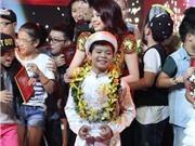 VIDEO: Công bố Quán quân The Voice Kids 2013 - Nguyễn Quang Anh