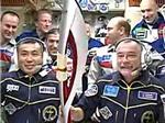 Chùm ảnh: Trạm vũ trụ Quốc tế ISS đón ngọn đuốc Olympic
