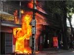 Lại cháy nhà do sơ suất trong hàn xì ở huyện Sa Pa