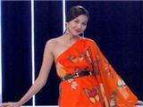 Siêu mẫu Thanh Hằng đấu giá váy voan làm từ thiện