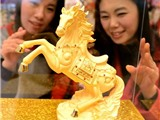 Ngựa vàng chào đón năm mới