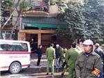 Cháy nhà bốn tầng ở Cầu Giấy, Hà Nội, một người chết
