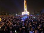 Hàng vạn người dân Đà Nẵng đếm ngược đón năm mới