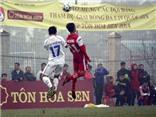 Kết thúc lượt đi vòng loại giải U19 quốc gia 2014: Không có bất ngờ
