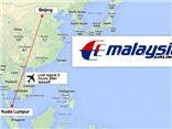Boeing 777-200 chở 227 hành khách đã rơi xuống Biển Đông?