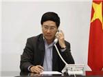 Phó Thủ tướng, Bộ trưởng Ngoại giao Phạm Bình Minh điện đàm với Bộ trưởng Ngoại giao Trung Quốc Vương Nghị