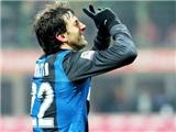 Milito đá hỏng quả phạt đền duy nhất trong mùa, Inter bị cầm hòa