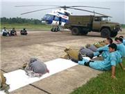 Thước phim vô giá về những chiến sĩ đã ngã xuống khi trực thăng Mi-171 gặp nạn