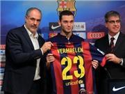 Vermaelen ra mắt Barca: Mặc áo 23, tiếp bước De la Pena, Zenden hay Coco