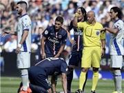 PSG mất Ibrahimovic 6 tuần vì chấn thương